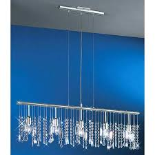 broadway linear crystal chandelier also linear 5 light inch bar pendant crystal chandelier modern contemporary broadway