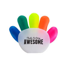 cool handy office supplies. Office Supplies - Thanks For Being Awesome Handy Highlighter Set Cool