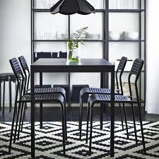 Black Kitchen Chairs Dining Room Furniture Ideas Dining Table Chairs Ikea