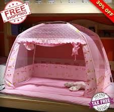 PRINCESS BED CANOPY Mosquito Insect Netting Mesh Baby Cradle Nets for Girls/Boys