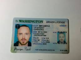 Washington Id Fake Maker Card