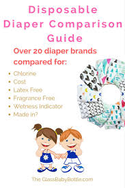 Disposable Diaper Comparison Guide The Glass Baby Bottle