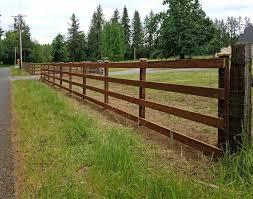 wood farm fence. Farm Fence Wood