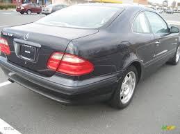 1998 Black Opal Metallic Mercedes-Benz CLK 320 Coupe #41068505 ...