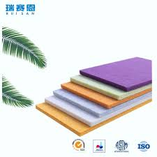 china suppliers new goods soundproofing materials polyester fiber acoustic interior wall panelings