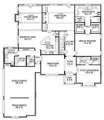 654263 5 bedroom 4 5 bath house plan house plans for modern 5 bedroom house designs