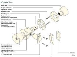 Door knob parts diagram schlage lock engine simple see aseries