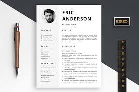 Resume Template With Photo Eric Bonus