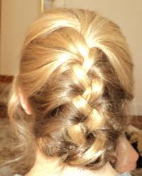 French Braid Updo Hairstyles French Braid Vs Dutch Braid From Cake To Kale