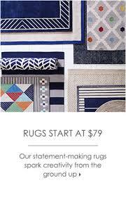 rugs start at 79