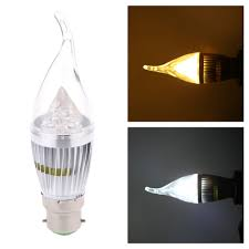 whole b22 10w led candle light bulb chandelier lamp spotlight high power ac85 265v