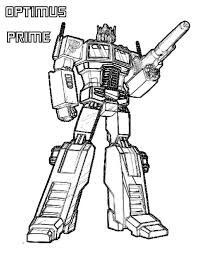 Small Picture simple way to color optimus prime coloring pages toyolaenergy