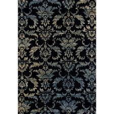 art carpet bastille victorian navy 8 ft x 11 ft area rug