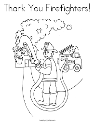 Small Picture Firefighter Coloring Page Fire Fighter Coloring Page Coloring