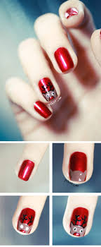 40 Red Nail Art and Polish Designs to Try Right Now - Fashiondioxide