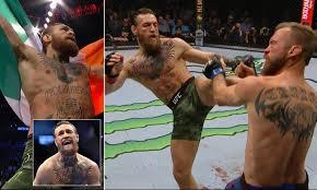 Conor McGregor vs Donald Cerrone LIVE: UFC 246 fight card ...