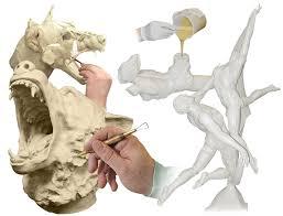 sculpture art casting