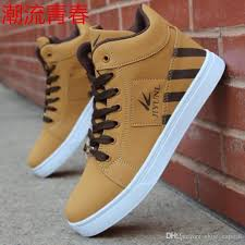 mens trainers high tops shoes for men casual shoes leather boots lace up usa street style men skate board chaussure homme 129506 dress shoes for men suede