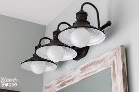 lighting design ideas farmhouse bathroom lighting images about