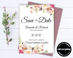 save the date template free download save the date greeting cards free download card wedding bright