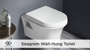 Seagram Wall Hung Dual Flush Toilet by DXV