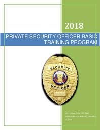Police departments use a mixture of plain english, 10 codes and the phonetic alphabet in order to keep radio communication as brief as possible. Doc Private Security Officer Basic Training Manual John F Lemon Academia Edu