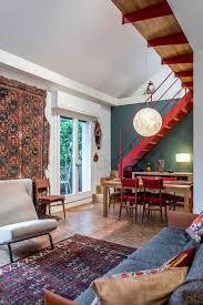 ethnic rug wall decor