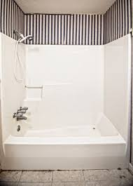 one piece shower units for additional bathroom one piece shower units bath up stainless steel