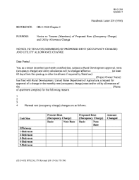 Fillable Online Rurdev Usda Handbook Letter 203 3560 Reference Hb