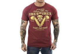 Yakuza Shirt Tattoo Shop Men T Shirt