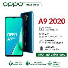 Shop bán TRẢ GÓP 0%| Điện thoại OPPO A9 (8GB/128GB) - Hàng chính hãng - Màn  hình giọt nước 6.5'' Snapdragon 665 8 nhân Pin 5000mAH