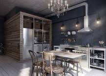 For some, embracing the industrial look is all about finding a balance  between modern refinement and edgy overtones that the style delivers.