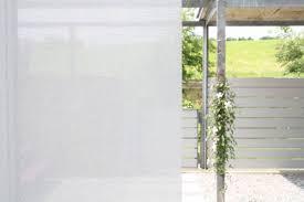 Flächenvorhang Halbtransparent Weiss 60cm80cm120cm Breit