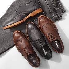 fashion italian style men s bullock shoes luxury good quality carved cowhide leather brogue shoes men s casual leather shoes malaysia