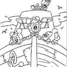 Mickey Mouse Coloring Pages Drawing For Kids Kids Crafts And