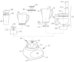 patent us6609821 blender base with food processor capabilities on simple blender wiring diagram