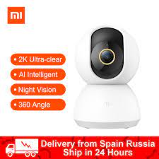 2020 Xiaomi Mijia Smart IP Kamera 2K 360 Winkel Video CCTV WiFi Nachtsicht  Drahtlose Webcam Sicherheit Cam Ansicht baby Monitor|1080p hd|camera  1080phd 1080p wifi - AliExpress
