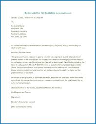 Sample Cover Letter Business Sample Cleaning Quotation Cover Letter Business Sufficient 9 Samples