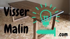Comment faire une table à manger - EP10 - YouTube