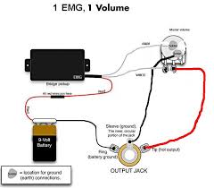active pickup wiring diagram wirdig