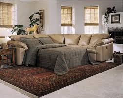 image of sectional with pull out bed door
