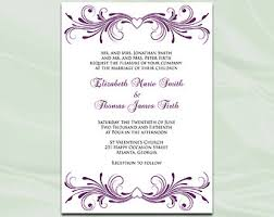 pink and silver wedding invitation template diy silver foil Editable Pdf Wedding Invitations plum wedding invitation template, diy printable birthday bridal shower party heart invites, editable text downloadable editable wedding invitations