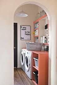 laundry room makeovers charming small. Elsie\u0027s Laundry Room Tour Makeovers Charming Small