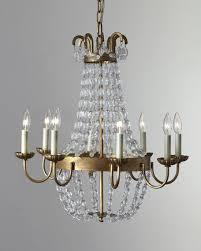 paris flea market small 8 light chandelier