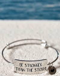 i am the storm cuff bracelet bangle snless steel e jewelry inspirational
