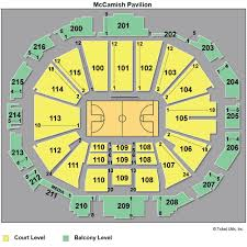 Georgia Tech Basketball Stadium Seating Chart Mccamish Pavilion Seating Chart New Florida State Seminoles