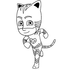 Printable Pj Masks Coloring Pages Coloring Sheets Get Coloring Page