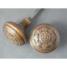 Old Doorknobs Doorknockers And Handles On Ancient Doors Stock Old