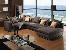 luxury deep seated sectional sofa  with additional contemporary