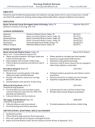 Nursing Student Resume Examples Fascinating Certified Nursing Student Resume Sample Join 28 28 People And